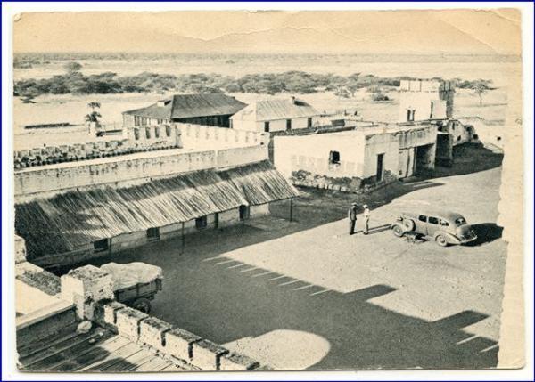 Namibia, Fort Namutoni (ehem. Deutsch-Südwestafrika), gel. 1939 ...