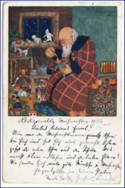 Weihnachtsgrüße Christkind.Weihnachten Weihnachtskarten Glückwunschkartenalte Ansichtskarten