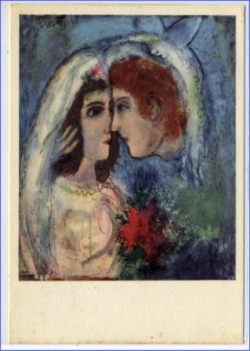 Chagall, The two heads