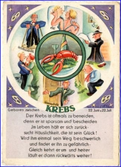Astrologie, Krebs