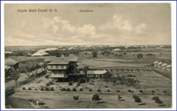 Ghana, Accra, Gold Coast, Bungalows, gel. 1913 (Briefm. sauber abgelöst)