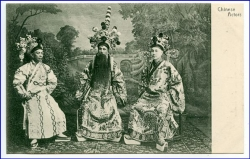 China, Chinese Actors (Verlag Sternberg, Hongkong), um 1910