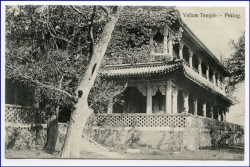 China, Peking, YellowTemple, um 1910