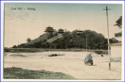 China, Peking, Coal Hill, um 1910