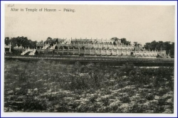 China, Peking, Temple of Heaven, um 1910