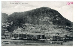 China, Hongkong, Central view, 1912