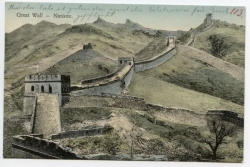 China, Nankou, Great Wall, 1912