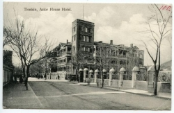 China, Tientsin, Astor House Hotel, gel. Tientsin 1912