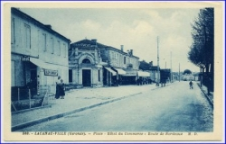 Lacanau-Ville, Place - Hotel du Commerce