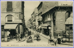 Bordeaux, Rue Ste-Catherine, gel. 1916