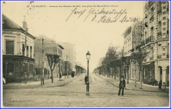 Le Raincy, avenue du Chemin de Fer, gel. 1904