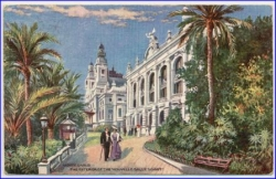 Monte-Carlo, The Exterior of the Nouvelle Salle Schmit, Oiilette, um 1905