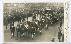 Coronation 1902, Royal Carriage Comin From Abbey