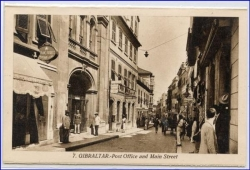 Gibraltar, Main Street and Post Office