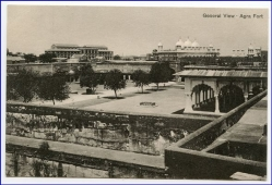 Agra Fort, gerenal View, um 1910