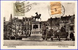 Luxemburg, Pace Guillaume, gel. 1925