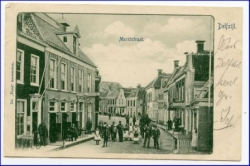 Delfzijl, Martkstraat, gel. 1902