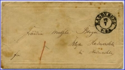 Magdeburg, alter Brief m. Stempel (Erh. II)