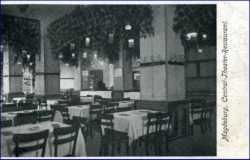 Magdeburg, Central-Theater-Restaurant, gel. 1911