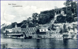 O4803 Bad Kösen, Loreleypromenade, gel. 1912