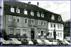 O6200 Bad Salzungen, Cafe Bein, 1960