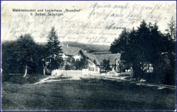 O6200 Bad Salzungen, Waldrestaurant Grundhof, gel. 1915