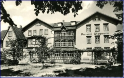 O6200 Bad Salzungen, Pension Stegmann, 1963
