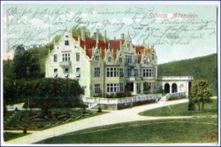O6202 Schloß Altenstein b. Bad Liebenstein, gel. 1905