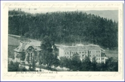 O9400 Aue, Sanatorium Dr. Pilling, gel. 1910