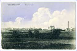 Gosslershausen (Westpr.), Ortsansicht, gel. 1910