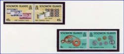 Solomon Islands, 2 Paar Doppelmarken
