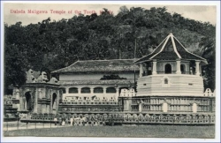 Ceylon, Sri Lanka, Kandy, Dalada Maligawa Temple of the Tooth, um 1910
