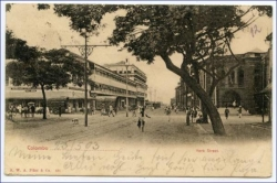 Ceylon, Sri Lanka, Colombo, York Street, gel. 1903