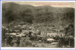 Ceylon, Sri Lanka, gereral view of Nuwara Eliya, showing Pedro, um 1910