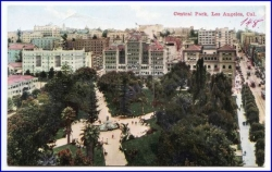 Los Angeles, Central Park, 1912