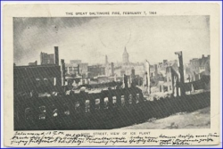 Baltimore, the great fire, Feb. 7, 1904, gel. 1904