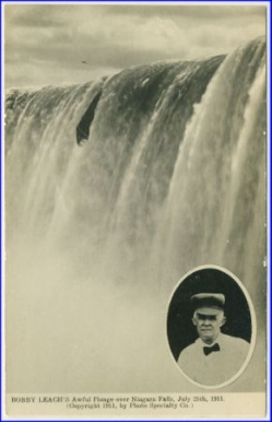 Bobby Leach´s Awful Plunge over Niagara Falls, July 25th 1911