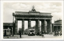 Berlin, Brandenburger Tor, gel. 1931