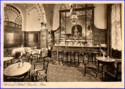 Berlin, Central Hotel, Berlin-Bar, gel. 1932