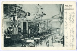 Berlin, Beuthstraße, Cafe Royal, gel. 1908