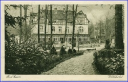 W4515 Bad Essen, Waldhotel, gel. 1950