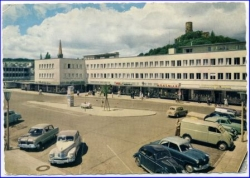Bad Godesberg, Theaterplatz, gel. 1955