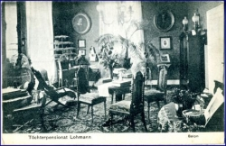 Bad Godesberg, Töchterpensionat Lohmann, Salon, um 1920