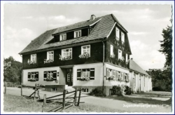 W5910 Littfeld, Jugendherberge, gel. 1958