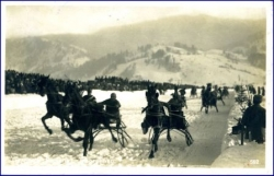 Garmisch-Partenkirchen, Wintertrabrennen, gel. 1944 --
