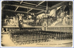 Marburg, Universitäts-Aula, gel. 1911 --