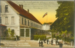 W4502 Bad Rothenfelde, Hotel Westf. Hof, gel. 1925
