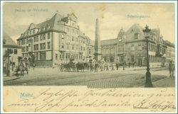 Mainz, Volksbank, gel. 1902